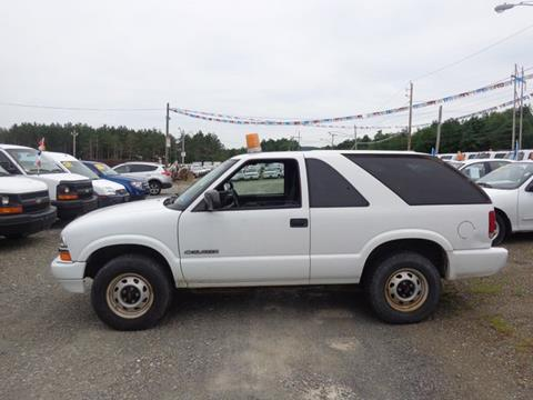 2003 Chevrolet Blazer for sale in Pittstown, NY