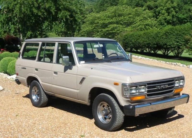 1989 toyota land cruiser for sale carsforsalecom