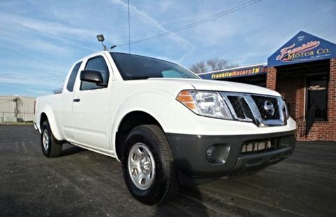Nissan frontier for sale in nashville tn for Franklin motor company nashville tn