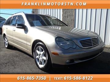 2004 Mercedes-Benz C-Class for sale in Nashville, TN