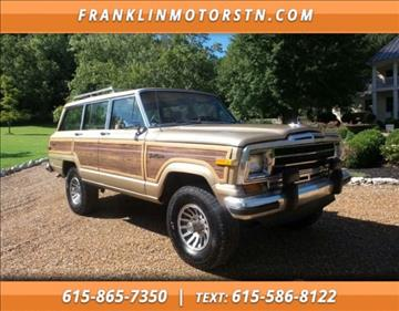 1990 Jeep Grand Wagoneer for sale in Nashville, TN