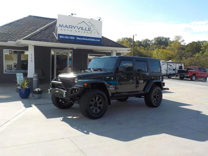 Maryville Auto Sales >> Jeep Wrangler Unlimited For Sale in Maryville, TN - Carsforsale.com