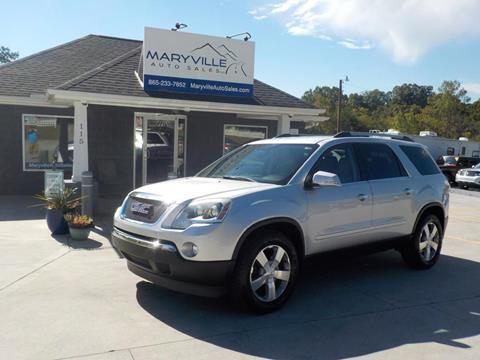 2012 GMC Acadia for sale in Maryville TN