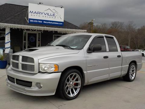 Maryville Auto Sales >> Dodge Ram Pickup 1500 SRT-10 For Sale - Carsforsale.com