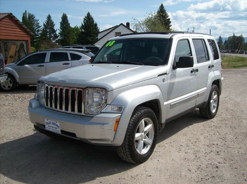 2008 jeep liberty limited 4x4 4dr suv in kalispell mt valley motors. Black Bedroom Furniture Sets. Home Design Ideas