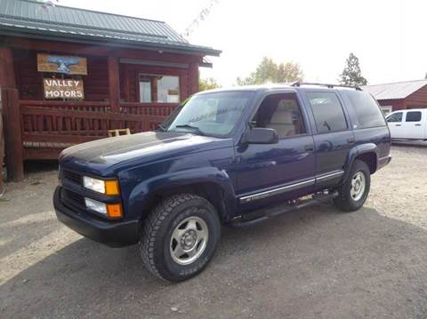 2000 Chevrolet Tahoe Limited/Z71 for sale in Kalispell, MT