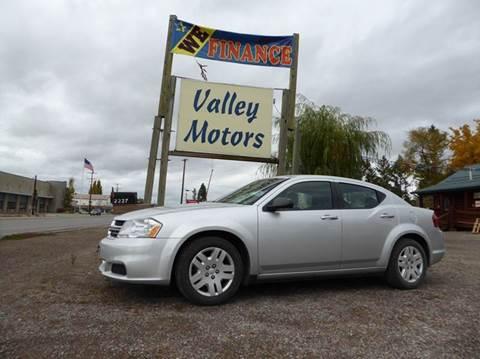 2012 Dodge Avenger for sale in Kalispell, MT