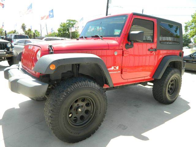 2009 Jeep Wrangler 4x4 Lifted W Big Tires In Houston