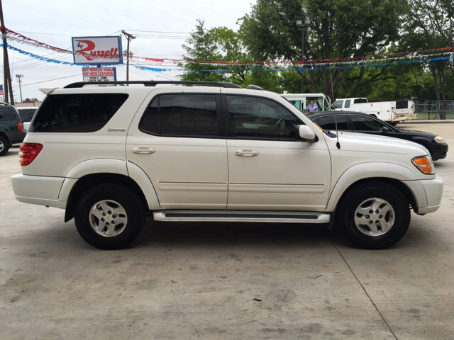2002 toyota sequoia limited 4wd 4dr suv in fort worth tx. Black Bedroom Furniture Sets. Home Design Ideas