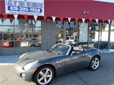 2008 Pontiac Solstice for sale in Macon, GA