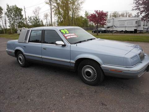 1993 chrysler new yorker for sale kansas for 1993 chrysler new yorker salon sedan