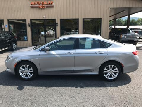 2015 Chrysler 200 for sale in Mill Hall, PA