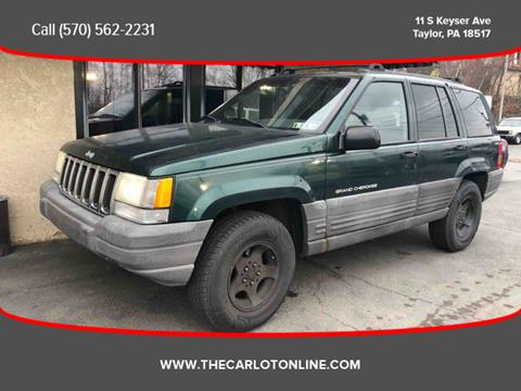 1998 Jeep Grand Cherokee For Sale In Taylor, PA