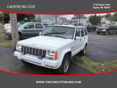1992 Jeep Cherokee for sale in Scranton, PA