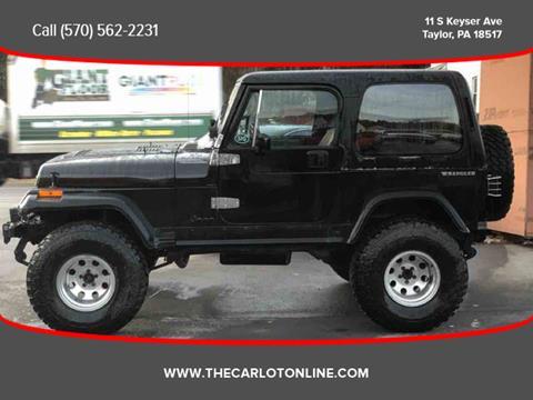 1989 Jeep Wrangler for sale in Scranton, PA