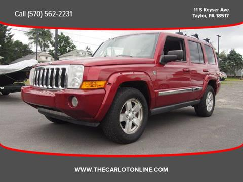 2006 Jeep Commander for sale in Taylor, PA