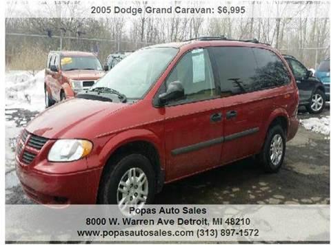 2005 Dodge Grand Caravan for sale in Detroit, MI