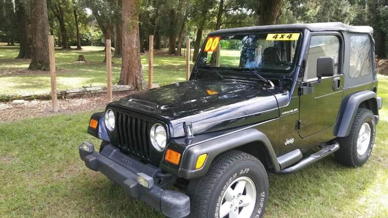 2000 Jeep Wrangler 2dr SE 4WD SUV - Ocala FL