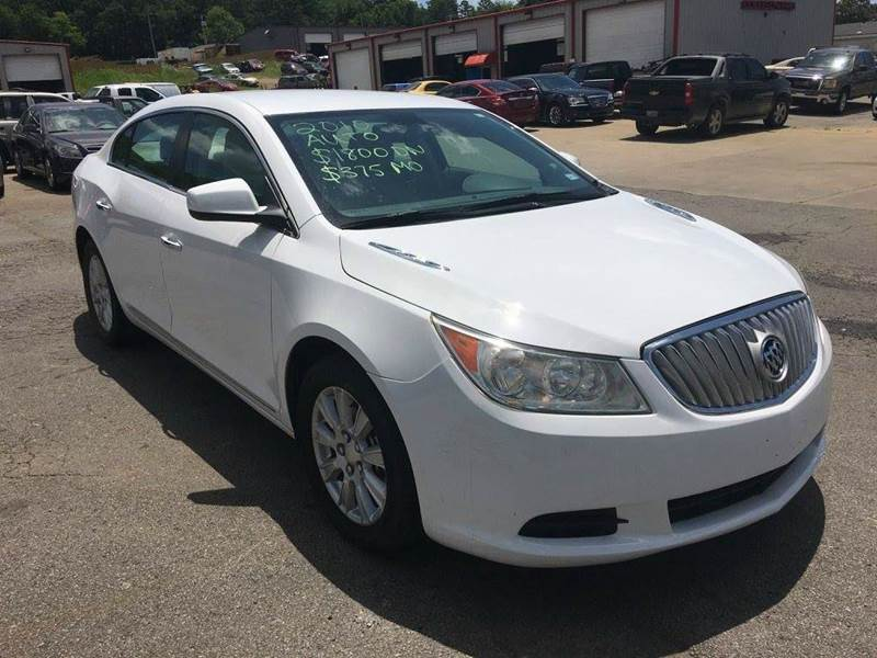 2010 Buick LaCrosse CX 4dr Sedan - Fort Smith AR