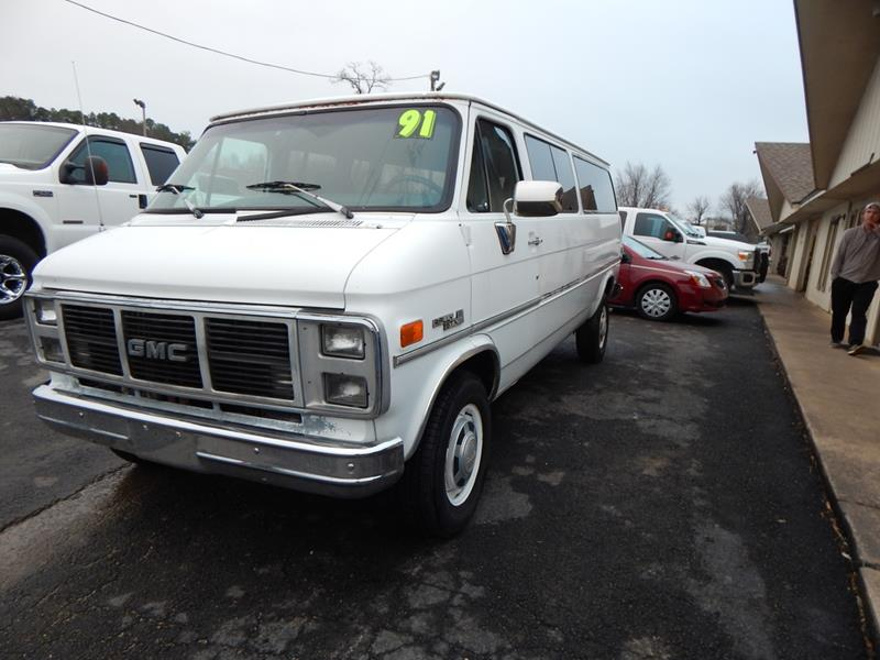 1991 GMC Rally Wagon for sale in Bethel Heights, AR