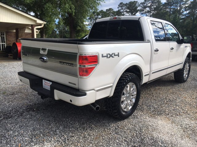 2011 Ford F-150 Platinum 4x4 4dr SuperCrew Styleside 5.5 ft. SB - Seminary MS