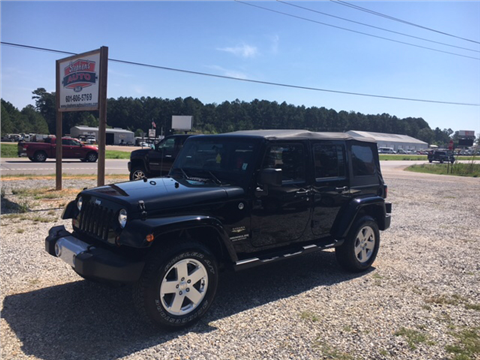 2012 Jeep Wrangler Unlimited for sale in Seminary, MS