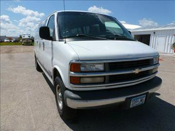 2001 Chevrolet Express for sale in Roseau, MN