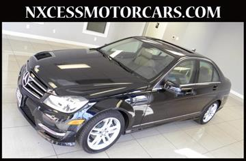 Used 2014 mercedes benz c class for sale houston tx for Mercedes benz for sale in houston tx