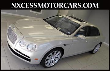 2014 Bentley Flying Spur for sale in Houston, TX