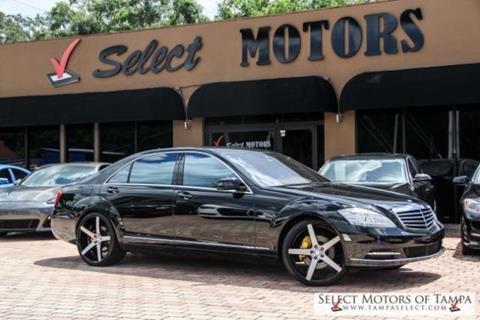 2012 Mercedes-Benz S-Class for sale in Tampa FL