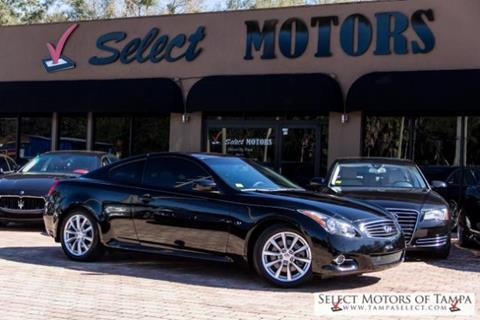 2014 Infiniti Q60 Coupe for sale in Tampa, FL