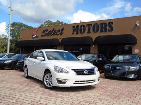 2015 Nissan Altima for sale in Tampa FL