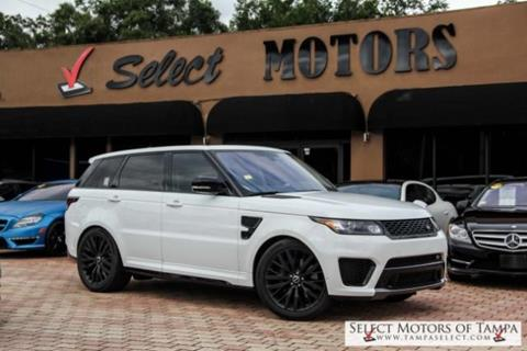 2016 Land Rover Range Rover Sport for sale in Tampa, FL