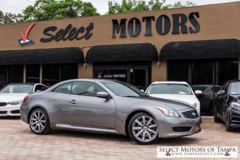 2009 Infiniti G37 Convertible for sale in Tampa FL