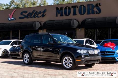2009 BMW X3 for sale in Tampa, FL
