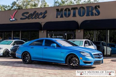 2013 Mercedes-Benz CLS for sale in Tampa, FL