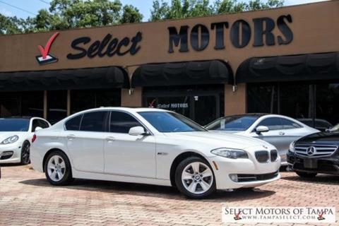 2012 BMW 5 Series for sale in Tampa, FL