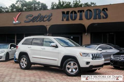 2012 Jeep Grand Cherokee for sale in Tampa FL