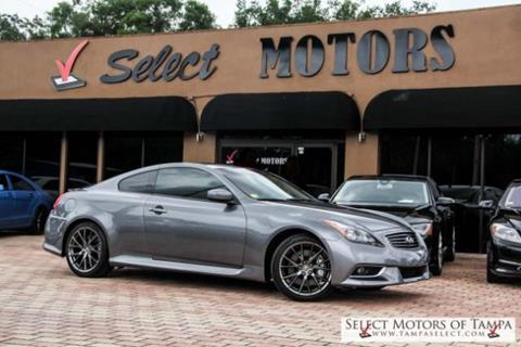 2013 Infiniti G37 Coupe for sale in Tampa FL