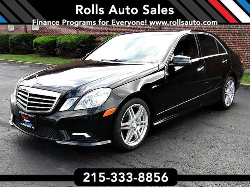 2010 mercedes benz e class for sale in pennsylvania for Mercedes benz for sale in pa