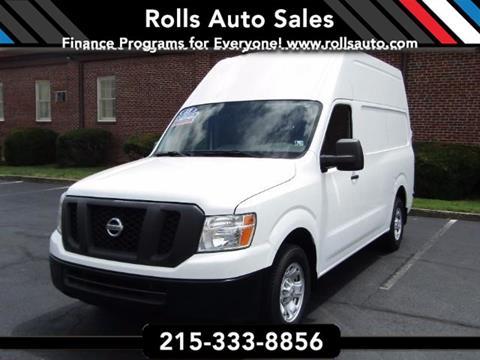 2013 Nissan NV Cargo for sale in Philadelphia, PA
