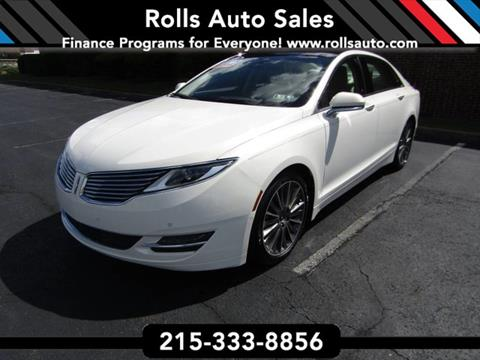 2013 Lincoln MKZ for sale in Philadelphia, PA