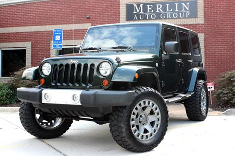 2010 Jeep Wrangler Unlimited for sale in Atlanta, GA