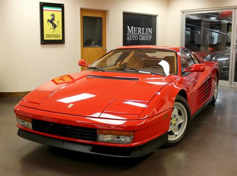 1990 Ferrari Testarossa For Sale In Georgia Carsforsale