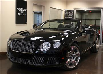 2013 Bentley Continental GTC for sale in Atlanta, GA