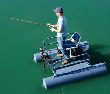 2014 rc 6ft 1person fishing pontoon for Fishing boat dealers near me