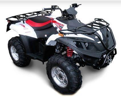 2012 Linhai 400 Utility Style 4x4 Single C