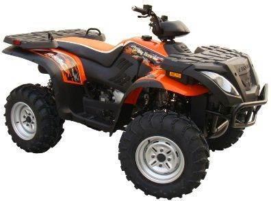 2012 Linhai 400cc Utility Style 4x4 Quad A