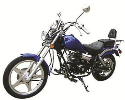 2012 Peace Sports 125cc Chopper Motorcycle