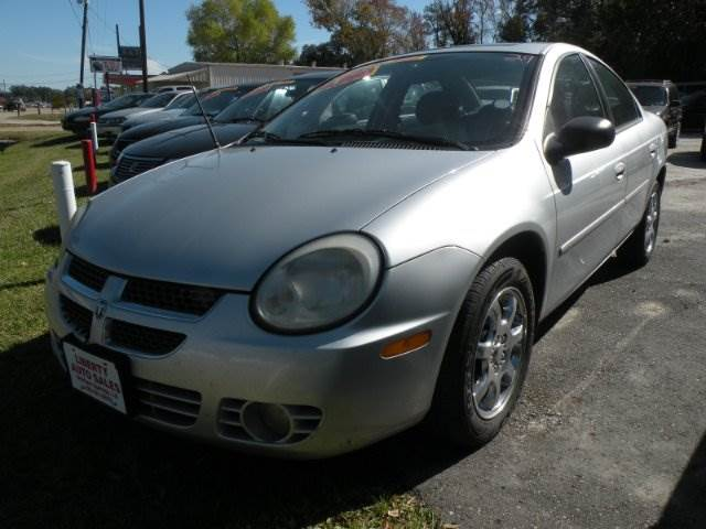 2004 DODGE NEON SXT 4DR SEDAN silver 4-speed automatic transmission 4-wheel abs center console